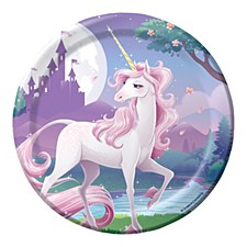 "Unicorn Fantasy 7"" Dessert Plates, 8ct"