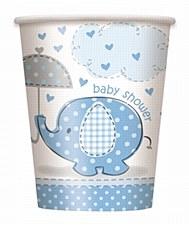Umbrellaphants Blue 9 oz. Cups 8ct