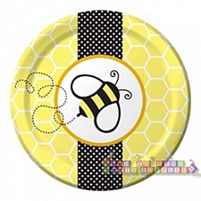 "8 7""Buzz Luncheon Plates"