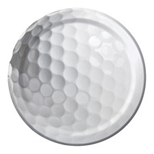 Sports Fanatic Golf Lunch Plates 7''-8ct