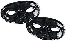 Black Half Mask BLACK