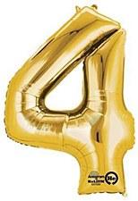 """34"""" #4 Gold Mylar"""