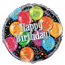"Bravo Birthday 18"" Foil Balloon Bulk"