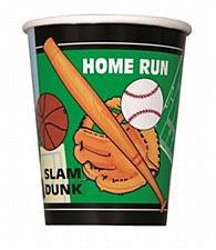 Classic Sports 9 oz. Cups 8ct