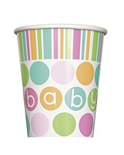 Pastel Baby Shower 9 oz. Cups 8ct