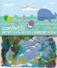 Under The Sea Pals Printed & Foil Confetti