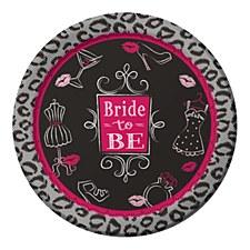 "Bridal Bash 9"" Lunch Plates, 8ct"