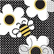 Busy Bees Beverage Napkins 16ct
