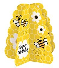 "Busy Bees 3D Centerpiece 14""H"