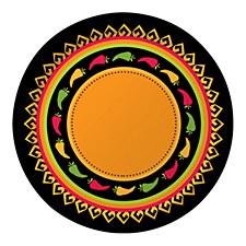 "Fiesta Grande 10"" Dinner Plates, 8ct"