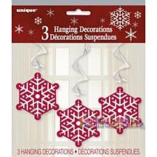3 Hanging Decorations
