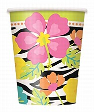 Wild Luau 9 oz. Cups 8ct