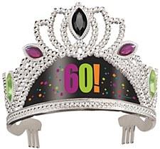 Birthday Cheer 60th Birthday Tiara