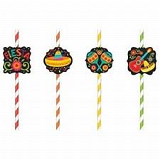 Fiesta Paper Straws