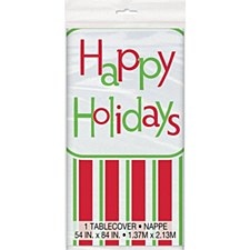 Happy Holidays Tablecover