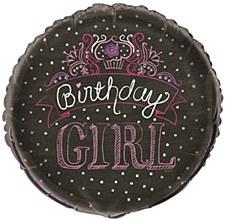 "Birthday Sweets 18"" Foil Balloon Bulk"