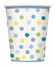 Baby Boy Stork 9 oz. Cups 8ct