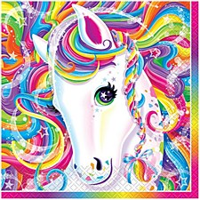 Lisa Frank Unicorn Lunch Napkins 16Ct.
