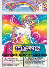 "12"" Rainbow Majesty Balloons, 8ct"