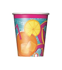 Pool Party 9 oz. Cups 8ct