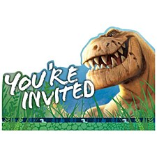 The Good Dinosaur 8 Invitations