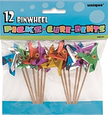 "Pinwheel Picks 4"" 12ct"