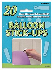 Balloon Stick-Ups 20ct