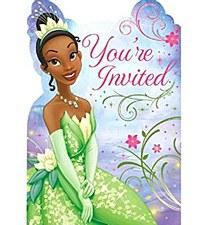Disney Tiana Enchanted Invitations
