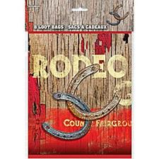 8 Rodeo Loot Bags
