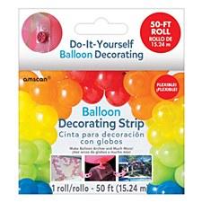 Balloon Decorating Strip 50'Roll