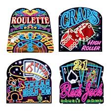 Neon Casino Cutouts
