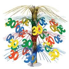 30th Birthday Cascade Centerpiece