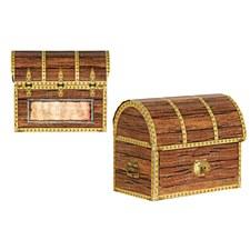 Pirate Treasure Chest Favor Boxes, 4ct