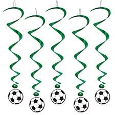 Soccer Ball Whirls, 5ct.