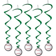 Baseball Whirls, 5ct