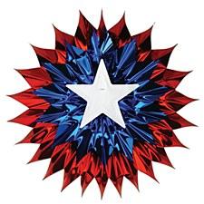Patriotic Fan-Burst
