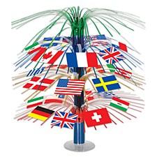 International Flag Cascade Cen
