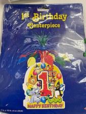 Carnival 1st Birthday Centerpiece