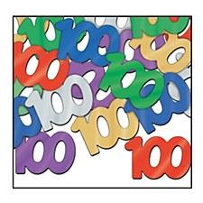 "Fanci-Fetti ""100"" Silhouettes"