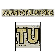 Metallic Congratulations Fring