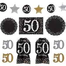 50th Birthday Room Decorating Kit