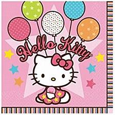 Hello Kitty Balloon Dreams Lunch Napkins
