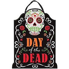 Day of the Dead Glitter Sign