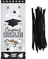 Congrats Grad Party Bags with Twist Ties