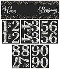 Sparkling Celebration Happy Birthday Banner Kit