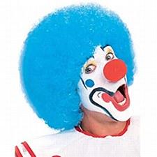 clown wigs blue