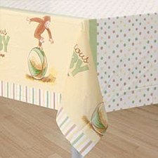 CURIOUS BABY TABLECOVER