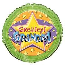 """18"""" Greatest Grandpa Foil Balloon"""