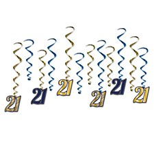 """21"" Whirls Hanging Decorations"