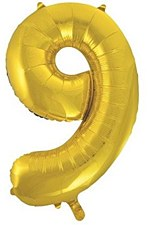 "34""Gold #9"